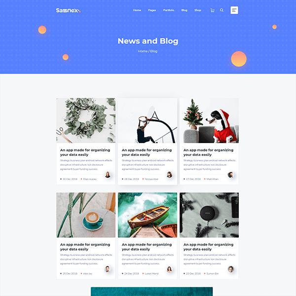 Sassnex - Multi-concept WordPress Theme for App, Saas & Agency